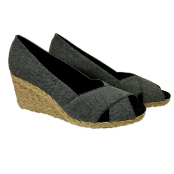 ff9bae00593 Chaps Dakoda Women's Espadrille Wedge Sandal Shoes NWT